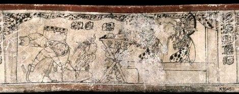 Maya vase K1645